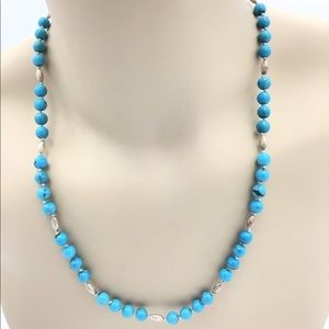 Creations Real Turquoise Necklace NWT
